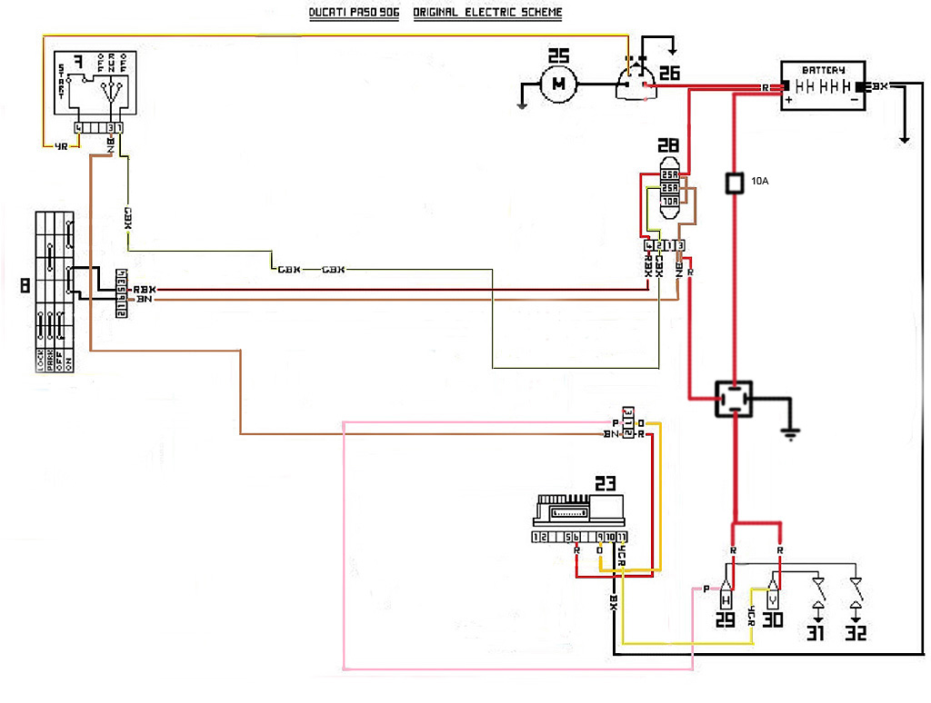 ducati paso wiring diagram php ducati wiring exles and