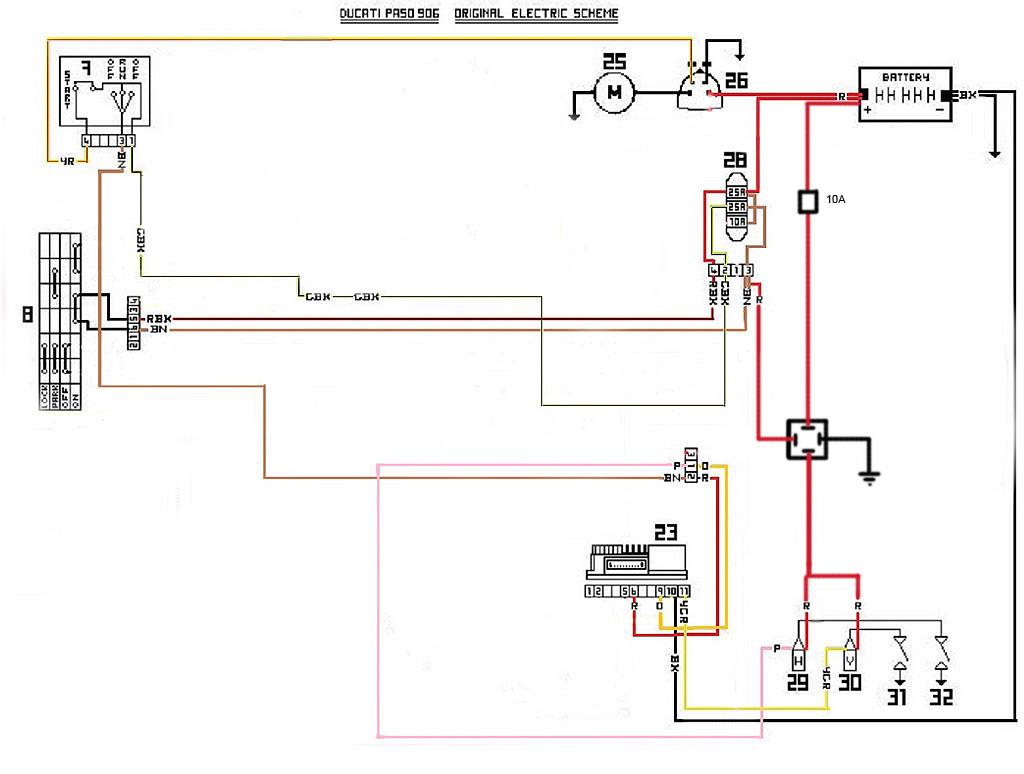 Ducati F1 Wiring Diagram