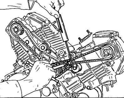 Ducati Engine Drawing