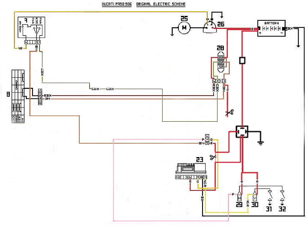 Ducati Ignition Switch Wiring Diagram 2004 Trusted 999 Coil Ducatipaso Org U2022 View Topic Relay Installation